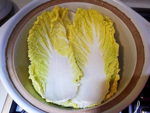 『油腻』美味不油腻的白菜豆腐煲,你肯定会喜欢